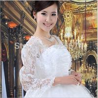 In stock gothic New style Bridal Wedding Dress Prom Gown Lace Jacket Bolero/Shrug 01