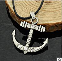 New high-quality jewelry  steel  2014  love  necklace ancient ways personalized retro jewelry 16