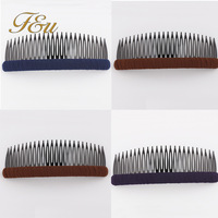 3 Colors for your choice 2014 Fashion Pure Color Casual Cheap Hair Comb Plastic Hair Clip Comb #141