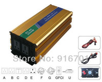 CE & RoHS approved DC12V AC240V 2500W pure sine wave solar inverter/power inverter with Australia socket two years warranty