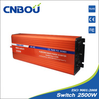 """""""free shipping""""2500w pure sine wave bypass inverter"""