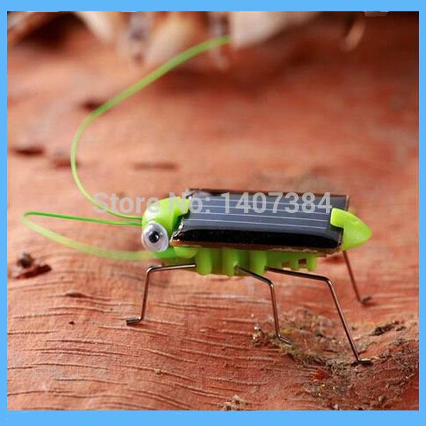 Solar Toy/Mini Solar Grasshopper /Educational Toy for Kids(China (Mainland))
