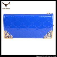 Lady clutch Candy color PU long women's wallets bag metal lace carteiras women free shipping women purse long wallet HS02