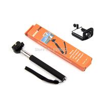 DHL wholesale Portable Handheld Self-Timer Camera Monopod holder+ Phone Clip Stand Holder,20set/lot CL-55