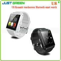 1.44 inch Smartwatch Bluetooth Smart Watch Wristwatch U8 Smart Watch Handsfree For Iphone Android Mobile Phone Multi Language