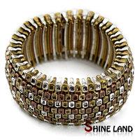 Vintage jewelry unisex pulseiras feminias antique mix color alloy streampunk style statement cuff bangle