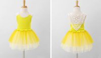 New style dresses for girls 2014 spring and summer flowers and sweet children's dress