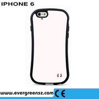 10pcs/lot Beautiful iFace phone case High quality Solid bright Color TPU+PC Hard Silicone back cover for iphone  6 6s