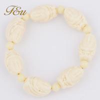 Fashion Very Popular White Buddha Bracelet Buddha Beads Bracelet#83