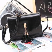 Vintage New Arrive Women Tassel Bag Fashion Messenger Bags PU Shoulder Bags Hot Sale Street Stylish Women's Handbags