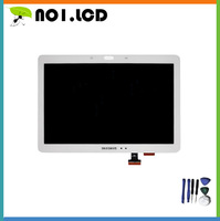 White For Samsung Galaxy Note 10.1 SM-P600 P605 P600 LCD Display Panel +Touch Screen Digitizer Replacement Repairing Parts