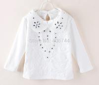 Girls toddler lace diamond T shirts,5pcs/lot,GD-14LYH09
