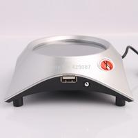 Hot Selling Coffee/Tea/Cup Warmer Heater PAD + 4 Port USB Hub Free Shipping