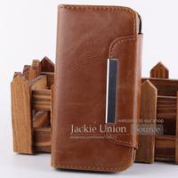 2in1 Grade Durable Wallet Retro Leather Magnet Design Flip Handbag Case For iPhone 5 5S 5G Card Holders
