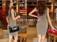 Free shipping the new 2014 han edition small bag ladies fashion handbag shoulder inclined shoulder bag chain bag hand bag