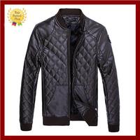 Brand assurance Autumn & winter design men's PU leather jackets ,men clothing,men coat,Man motorcycle casual jackets(NSPY-006)