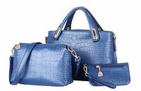 Rose Rock Buy 1 Get 3 New 2014 Desigual Brand Women Handbag PU Leather Shoulder Bags Women Messenger Bags Bolsas Messenger Bag