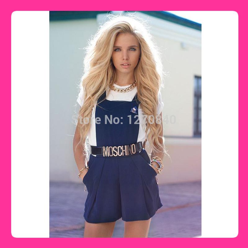 Long Platinum Blonde Wig Human Hair Human Hair Wigs / Blonde