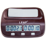 RQ9907 Portable Compact Digital Chess Clock Electronic Board Game Timer Handheld Man Piece Master