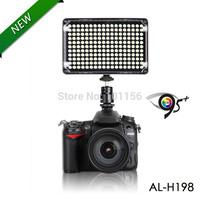 Aputure Amaran New AL-H198 High CRI 95+ Led Panel LED Video Light  AL-H198 for Canon Nikon Olympus Camcorder with carrying bag