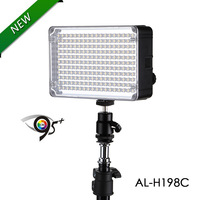 Aputure Amaran CRI 95+ AL-H198C LED Video Light Lamp 5500K / 3200K Dimmable for Canon Nikon Pentax DSLR Camera Video Camcorder