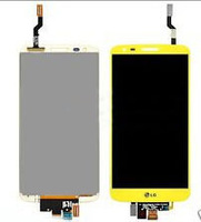 Free shipping ems dhl  For LG G2 D800 D801 D803 LS980 VS980 color Touch screen  Digitizer  lens Assembly