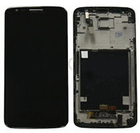 Free shipping ems dhl  For LG Optimus G Pro ls980 black original oem Touch screen Digitizer with frame Assembly