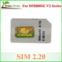 2.20 Sim Card / Sim 2.20 Card  for DM 800se V2,DM800SE V2 WIFI ,SR4 V2 Series