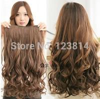 Blended Hair Wigs Women Long Fashion Beautiful Ponytail Big Wavy Ponytails Hairpiece Seda Hair Styling Tools Vivi-001