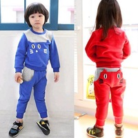 free shipping 2014 new Cat style set of clothes for fashion girls the suit for girls 01-007