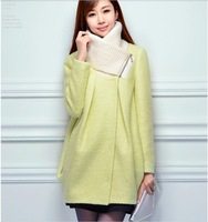 2014 winter new fashion woolen coat collar woolen coat and long sections Slim Korean tide NDX130  Y9W