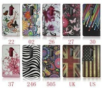 Wholesales 300piece /a lot PU Leather Butterfly Garden Wallet Case UK flag US flag for iPhone 6 iphone6 6G 4.7 inch Card Cover