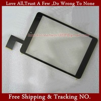 7.9inch Prestigio Tablet Pc Vido M3C Touch Screen Panel Outer Digitizer Highscreen Boot white&black Screen Glass HS1282 V190