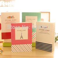 12pcs/lot Korea Creative Small Cute Notebook Diary Book/Notepad/Memo Pad Novelty Stationery School Supplies 12.5*9cm Wholesale