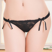60 Pieces  sexy Women's lace Thong Panty G-String Briefs # 87225  Size  M  L  XL