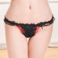 Sexy Hotpants Damen Hipster Spitze Slip Tanga Rio String Panty