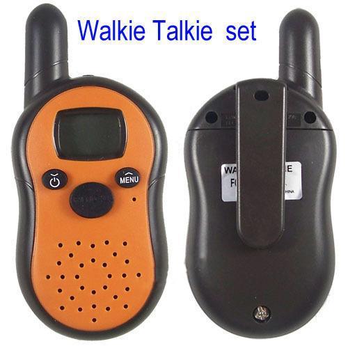 New Generation radio Portable Mini Walkie Talkie Pair Set Wireless 2-Way Intercom 1km Range Dropship(China (Mainland))