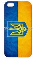 1 PCS The UKRAINE National Flag  Hard case for iphone 4  4g  4s hard back cover Hongkong post