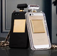 2014 Luxury Perfume Bottle for iPhone 6 Fashion Frosted TPU Case for iPhone 6 Anti-knock luxury diamond case
