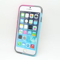 10 pcs/Lot 2014 Fashion New Ultra thin Case for Apple iPhone 6 4.7 inch Cover Case Soft Bumper Frame