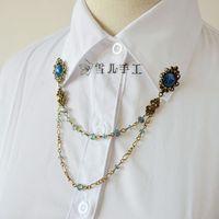 Weinstein handmade time gem vintage decorative pattern accessories female brooch stud brooch corsage