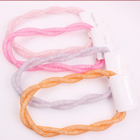 T14091302,12pcs/lot, New Stock Hot Sales Quality Handmade Cheap Fashion Women Crystal Neon Mesh Necklace, Free Shipping