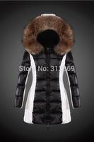 2015 New Fashion Women Down Jacket High Quality Luxury Brand Fashion Winter Jacket Women Down Coat Fur Collar Lady Down parka