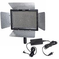 Bi-Color YONGNUO YN600 YN-600 II 3200k-5500k LED Video Light Panel with AC Power Adpter