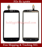 Hot Sale Black Color Fly IQ4404 Spark Capacitive Touch Screen Front Glas Touch Screen Digitizer Screen Display + Free Gift