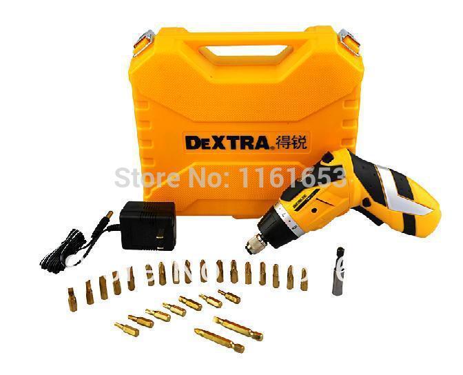 2014 Rushed Sale Ferramentas Gator Grip Metal Detector Power Tools Drill 3.6v Lithium Screwdriver, Multifunction Mini Hand(China (Mainland))
