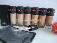 wholesale 30pcs/lot  high quality Studio fix fluid SPF 15 makeup liquid Foundation 30ML 6 color (NW20 25 30 35 40 45)Free DHL