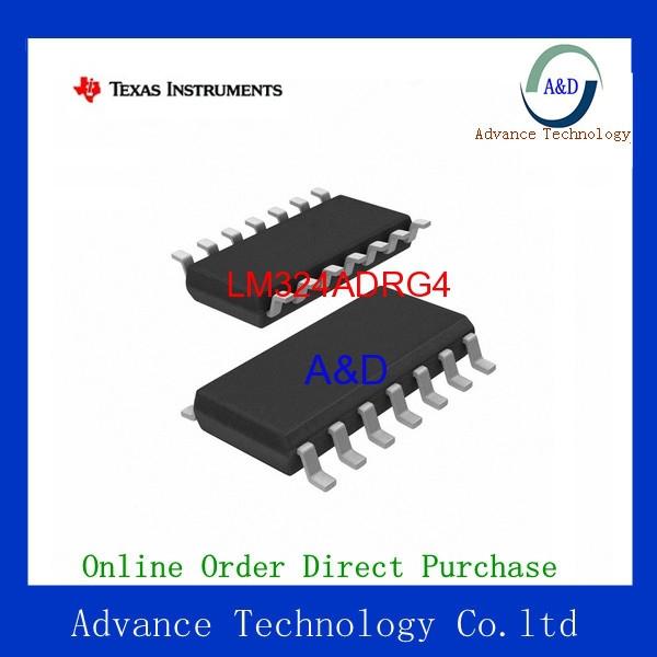 Original LM324ADRG4 IC OPAMP GP 1.2MHZ QUAD 14SOIC IC chip(China (Mainland))