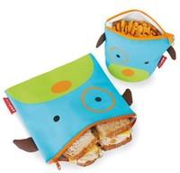 Baby animals snack bags Baby's food bags, children's Waterproof bags  Doomagic Cute   canvas bags-DZY276C