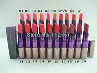 Free DHL/EMS NEWEST brand name nake lipstick ,profession 20color u-d lipstick (100pcs/lot)
